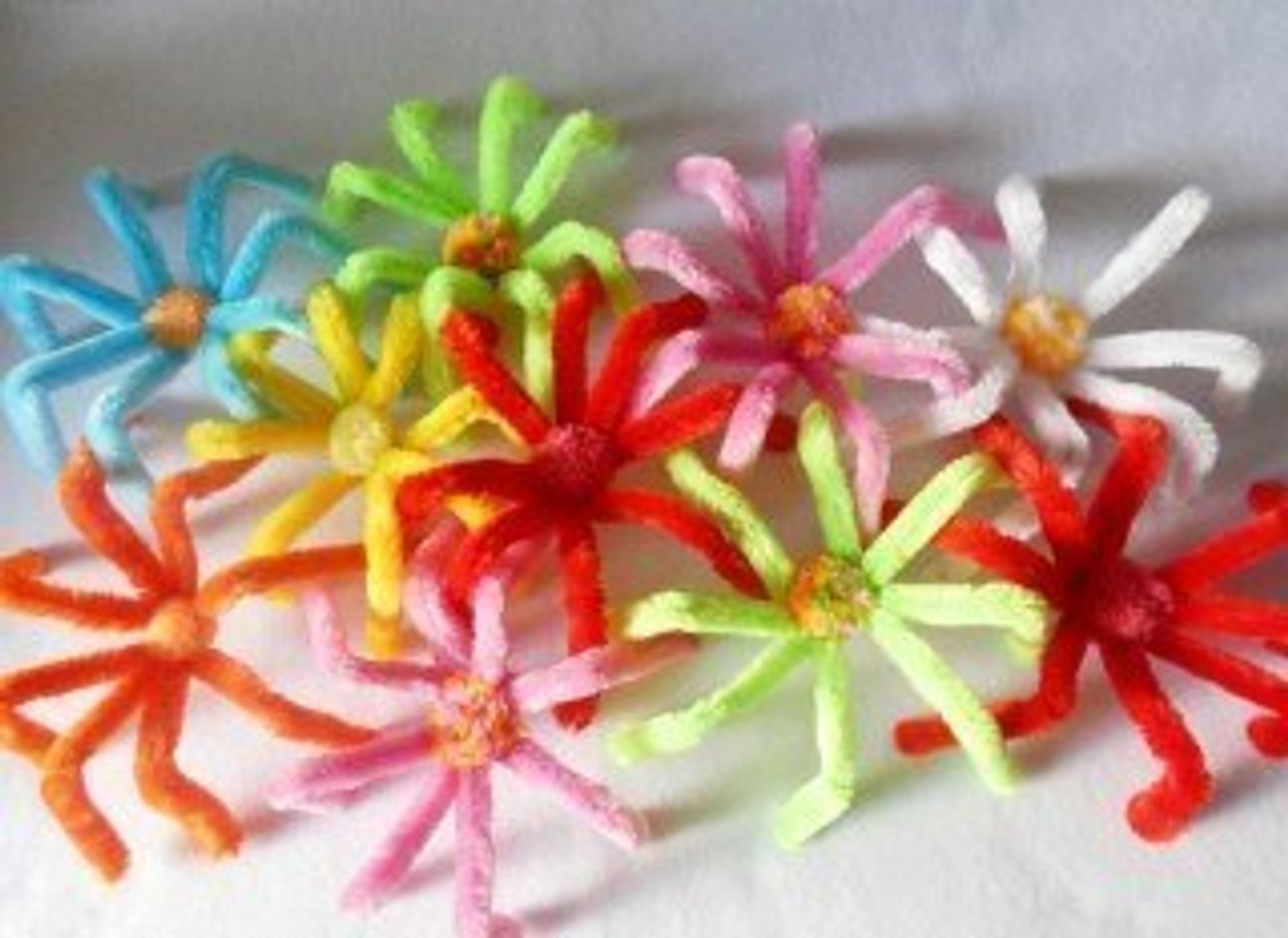 Cat pipecleaner Spider Toys